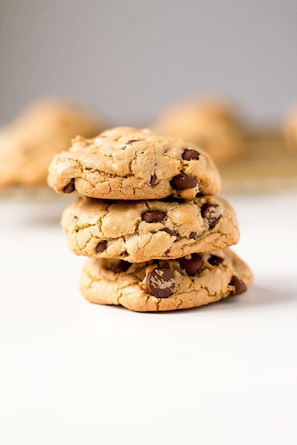 brown butter butterscotch chocolate chip cookies | wellfloured.com