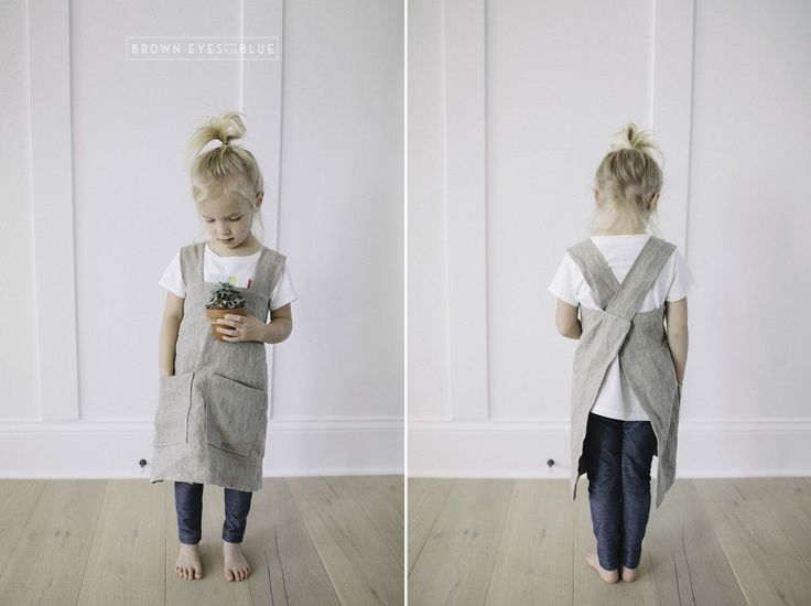 Japanese style aprons for kids!                                                                                                                                                                                 More