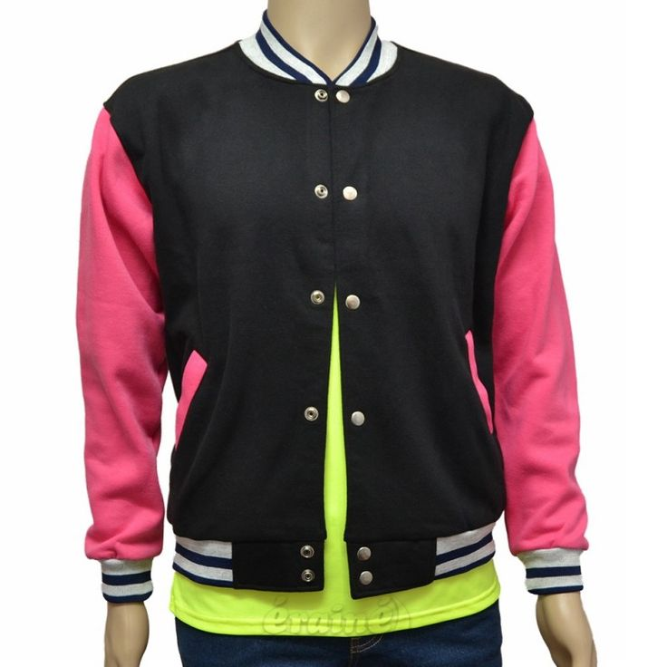 Varsity Jacket Black Pink