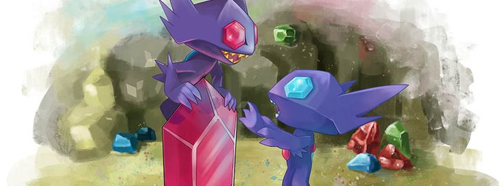Meet the Expert by zacharybla Watch Digital Art / Drawings & Paintings / Illustrations / Conceptual #megasableye #pokemon #sableye