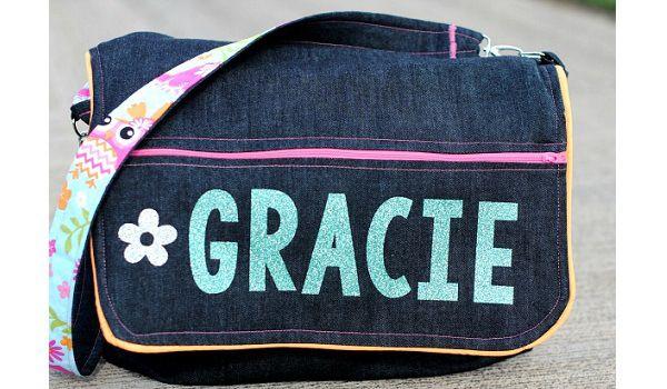 Tutorial: School messenger bag