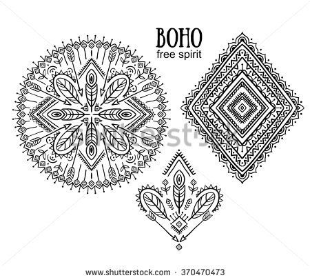 69 Best Boho Images On Pinterest Arrow Arrows And Image Vector