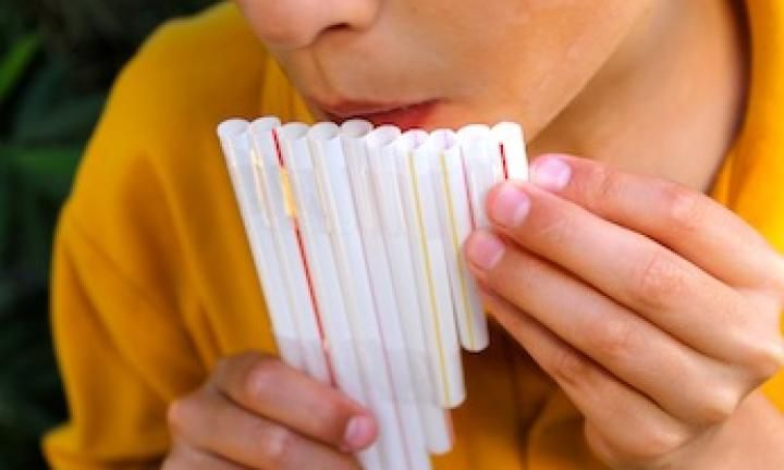 Make a straw flute- Air of the Wolf Cub Scouts