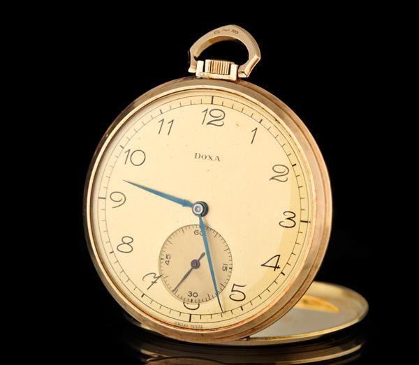 Pánské kapesní hodinky Doxa