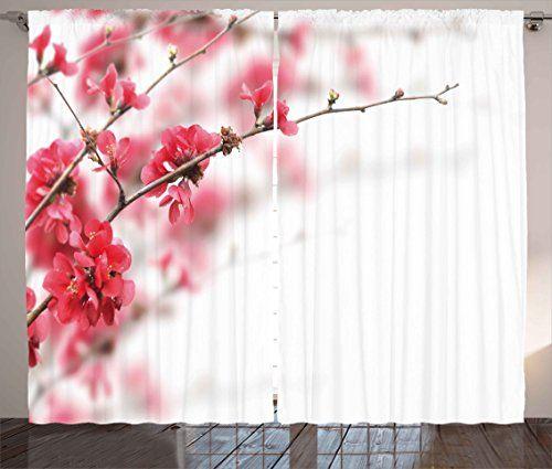 Spring Curtains by Ambesonne, Nature Beauty Cherry Blosso... https://www.amazon.com/dp/B071JC7JK3/ref=cm_sw_r_pi_dp_x_HkOnzb6H2GC6G