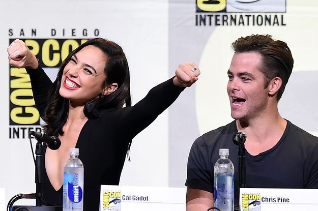 21 Times Gal Gadot And Chris Pine Made Your Heart Burst A Little (BuzzFeed): so adorable!