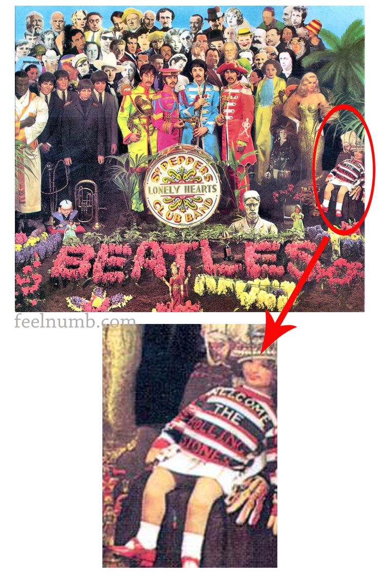 Sgt. Peppers Lonely Hearts Club Band The Rolling Stones Doll