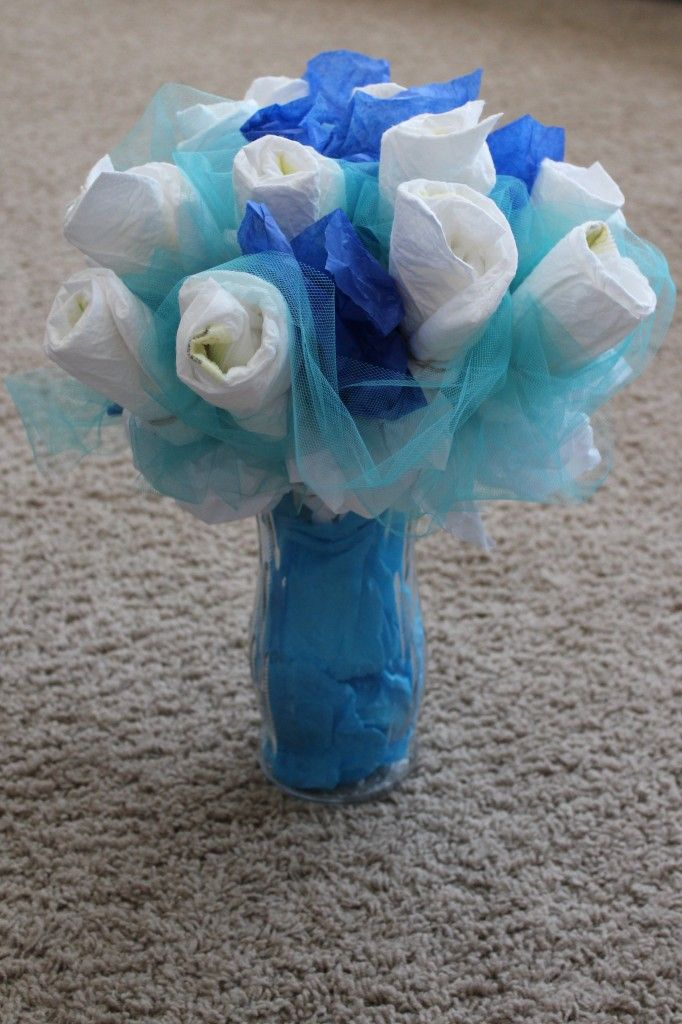 Diaper Bouquet Diapers And Frugal On Pinterest