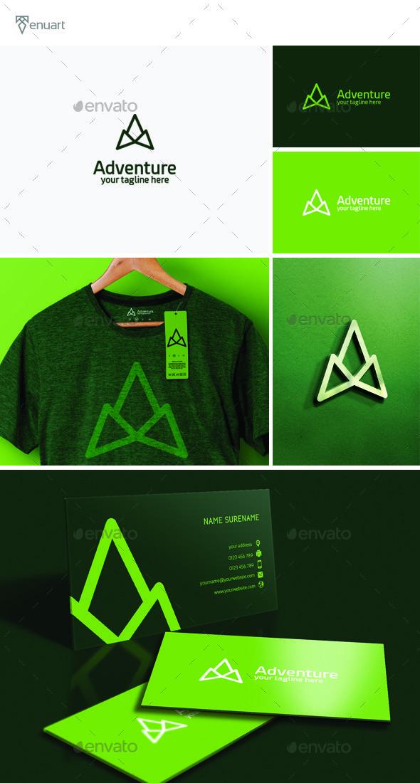 Adventure Logo  #design #forum #games • Available here → graphicriver.net/.....