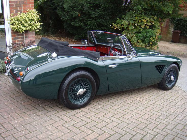 1964 - AUSTIN HEALEY 3000 MkIII BJ8(Works/Competition Spec)