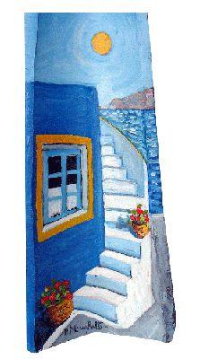 Dipinto su coppo (40x60 cm)