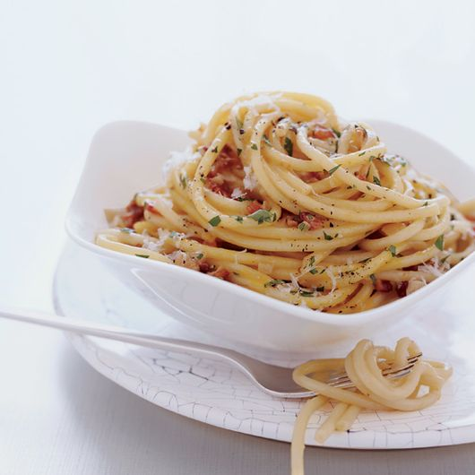 Carbonara, a creamy, intensely satisfying Italian dish of pasta, eggs, bacon and black pepper is fantastic for brunch or dinner. Here, seven amazing carbonara recipes.