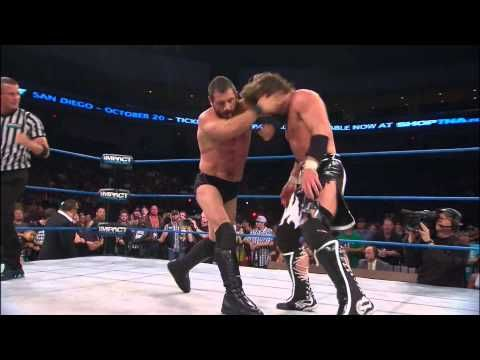 X Division Title Match: Chris Sabin vs. Manik vs. Austin Aries - July 4, 2013