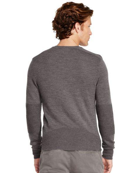 Slim-Fit Biker-Pullover - Pullover Herren - Ralph Lauren Deutschland