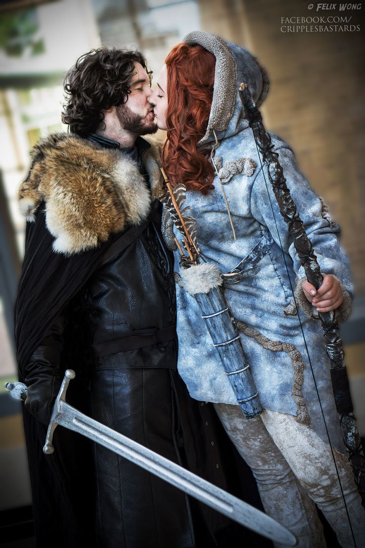 Jon Snow and Ygritte Game of Thrones Cosplay by ~3direwolfmoon on deviantART