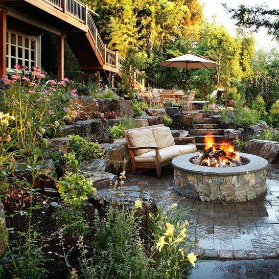 Backyard Oasis Ideas: Best 25+ Steep Backyard Ideas On Pinterest