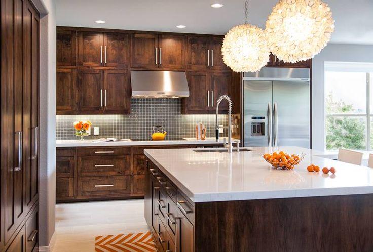 Las 25 mejores ideas sobre gabinetes oscuros en pinterest for Ideas de gabinetes de cocina