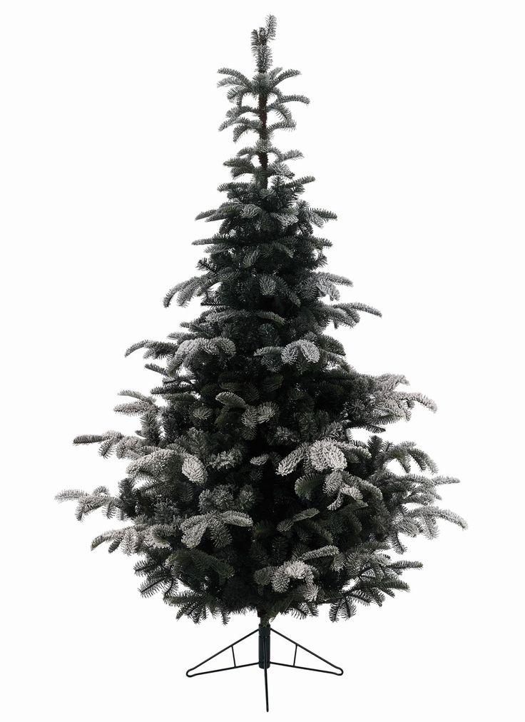 9ft Snowy Nordmann Fir Feel-Real Artificial Christmas Tree