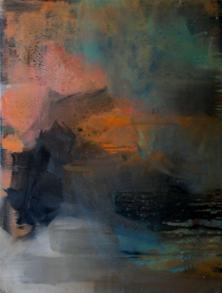 Untitled  Oil on canvas by David Nemeth