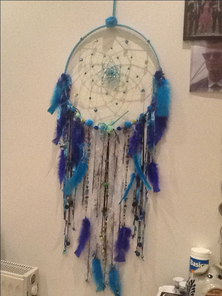 My first dream catcher for a Christmas present...rather pleased