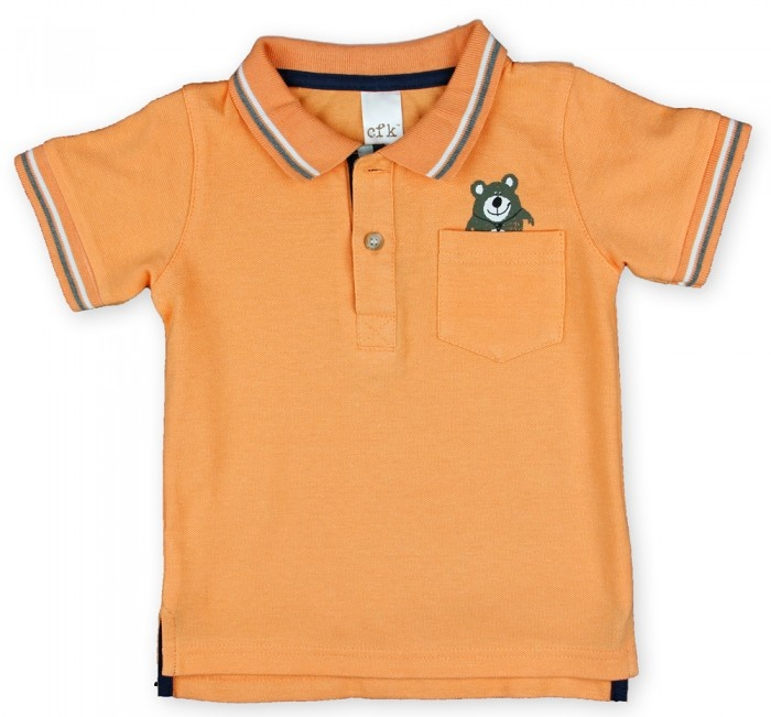 Orange Polo Top  $15  http://www.clothingforkids.com.au/polo-top-cfk12-015#