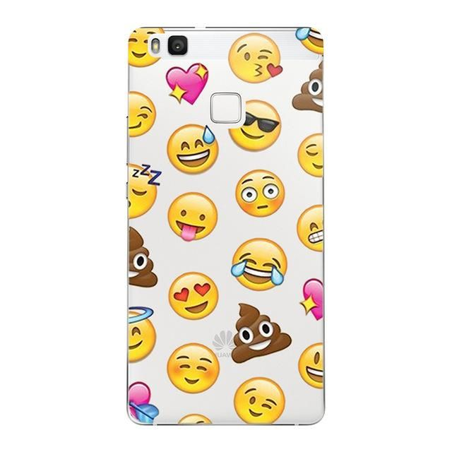 Mickey Minnie Case Ultra Thin Soft Silicon TPU Cover For Huawei P8 P9 P10 Lite 2017 honor 8 9 Y5 II Cases