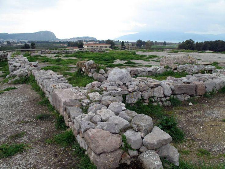 The Palace of Ancient Tiryns Mycenaean Citadel (16th c. BC)