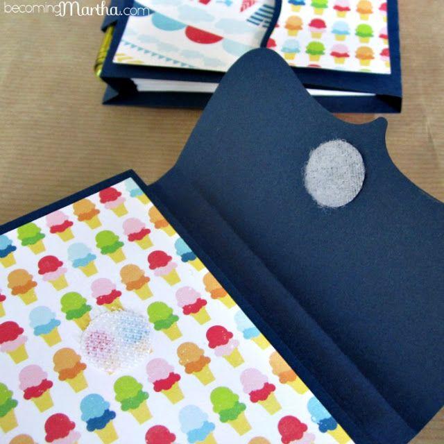Summer Inspired DIY Notebooks