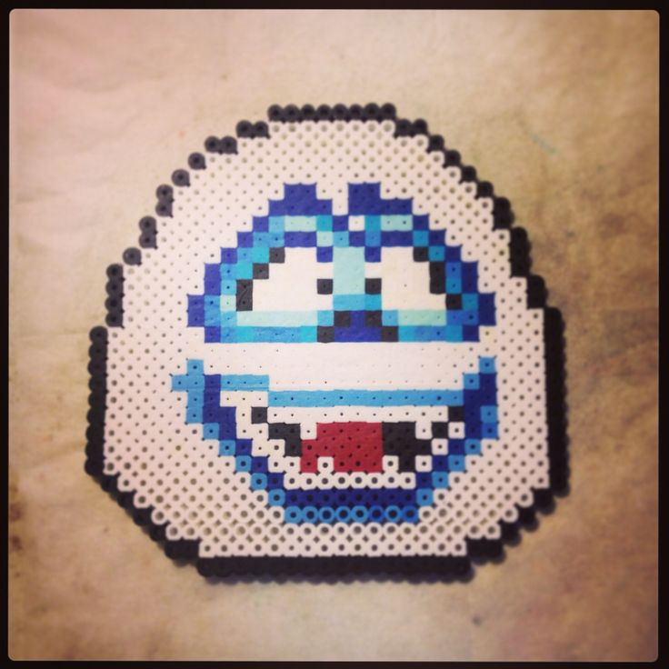 Bumble the Yeti from Rudolph the red nosed reindeer. :) #perler #perlerbeads #hama #hamabeads #fusebeads #xmas #bumble #christmas