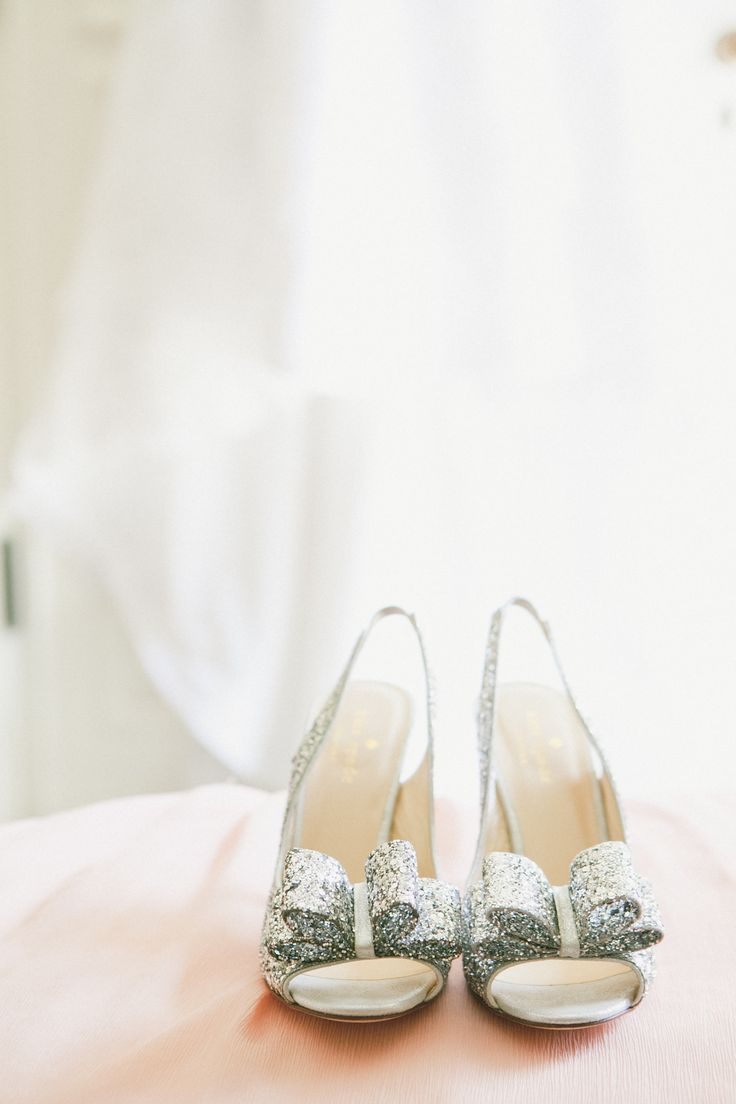 Blush Pink Wedding at The Athenaeum     Kate Spade Shoes    See the wedding on SMP:  http://www.StyleMePretty.com/california-weddings/pasadena/2014/02/20/blush-pink-wedding-at-the-athenaeum/ OneLove Photography