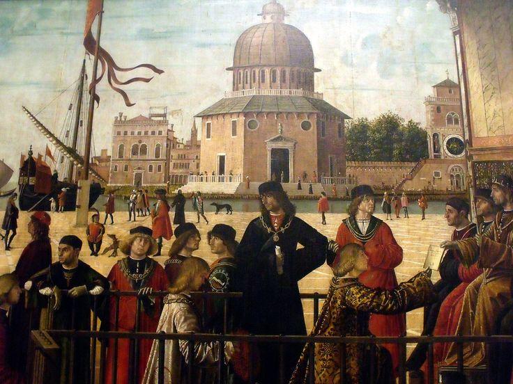 L'arrivée des ambassadeurs (détail) VITTORE CARPACCIO (1465 circa – 1525/1526) #TuscanyAgriturismoGiratola