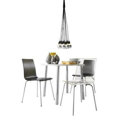 Bosonic Ceiling Lamp - Chrome/Black