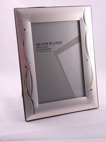 Silver Frame - Celebrations 4 x 6 – Purple Clover Photo Frames and Giftware