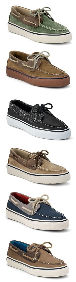 Check out the new colors of these men's Bahama Boat Shoes from Sperry Top-Sider...