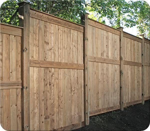 Forest Hill Cedar Fence with Upgrades| Fence-All