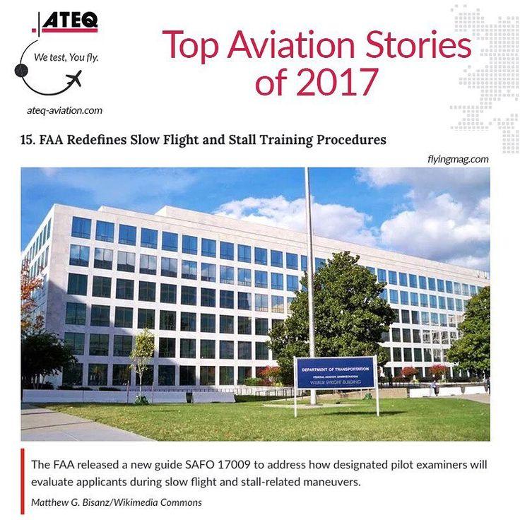 #FAA redefines slow #flight and stall #training procedures  www.ateq-aviation.com    #ATEQ #aviation #avgeek #mechanic #aviationlovers #travel #airplane #MRO #repair #aviationdaily #aviators #instaaviation #aviationphotography #planespotting #aviationgeek #boeing #airbus