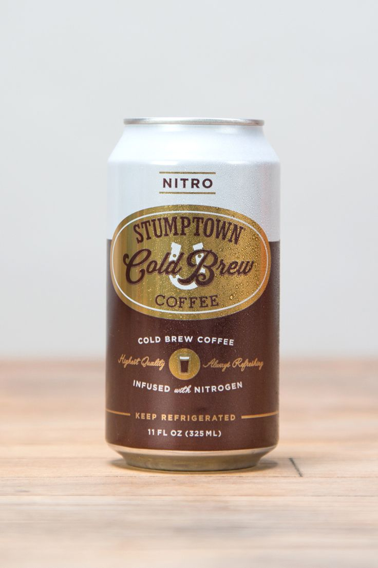 Sometimes you just need the convenience. You can now get Stumptown Cold Brew in a can.