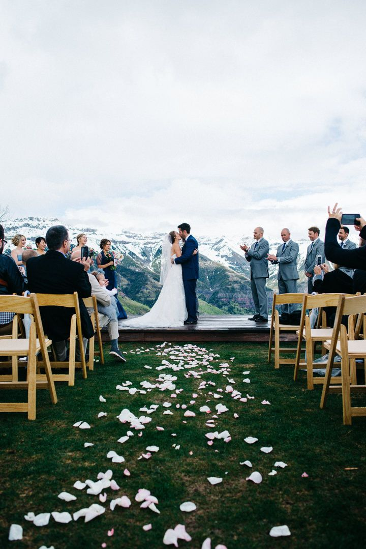 Brie and Tyler's Colorado Wedding in the Snowy Mountains By Searching For The Light