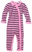 Splendid Littles Baby-Girls Infant Venice Thermal Stripe Kimono Romper