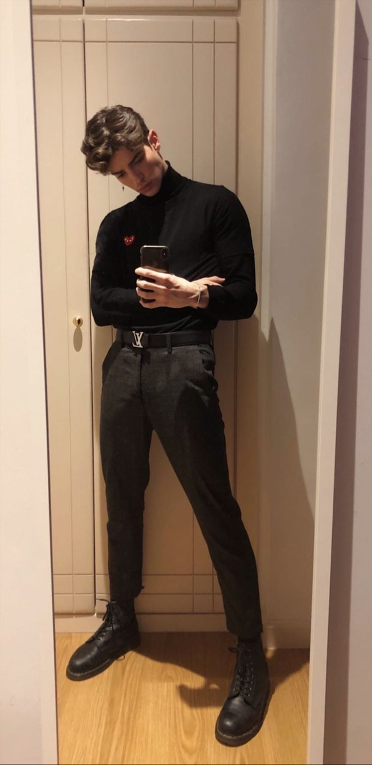 Stylish Mens Outfits, Casual Outfits, Men Casual, Casual Shirt, Simple Outfits, Neue Outfits, Boy Outfits, Outfits Hombre, Hipster Outfits