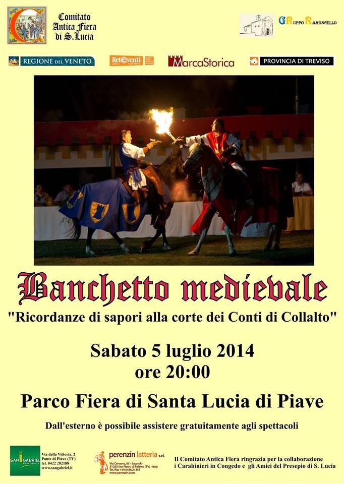MedioEvo Weblog: Banchetto medievale a Santa Lucia di Piave (TV)