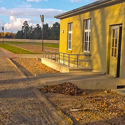 Visit the former Sachsenhausen concentration camp and memorial, near Berlin, and learn how it was the site of a Nazi plot to crash the world's financial markets http://memorabledestination.com/2015/12/14/in-germany-see-a-bizarre-tale-from-dark-days/