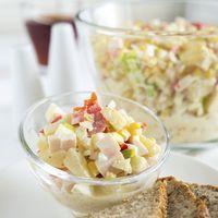 Receita Salada de alho-poró e abacaxi