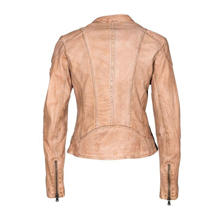 Vêtement en cuir Blousons sport CUIRS GUIGNARD beige