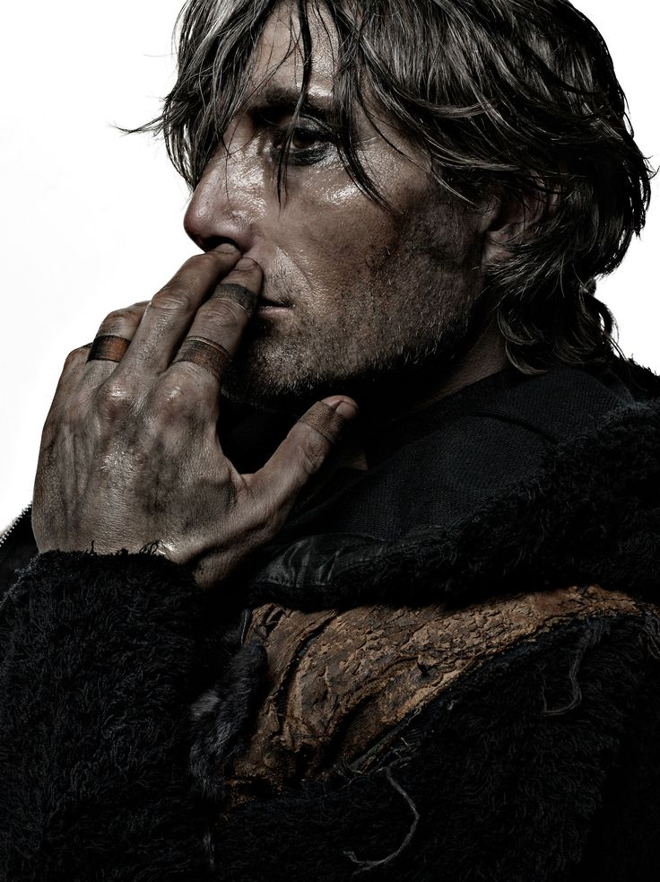 Mads Mikkelsen - I think he may be my favorite actor