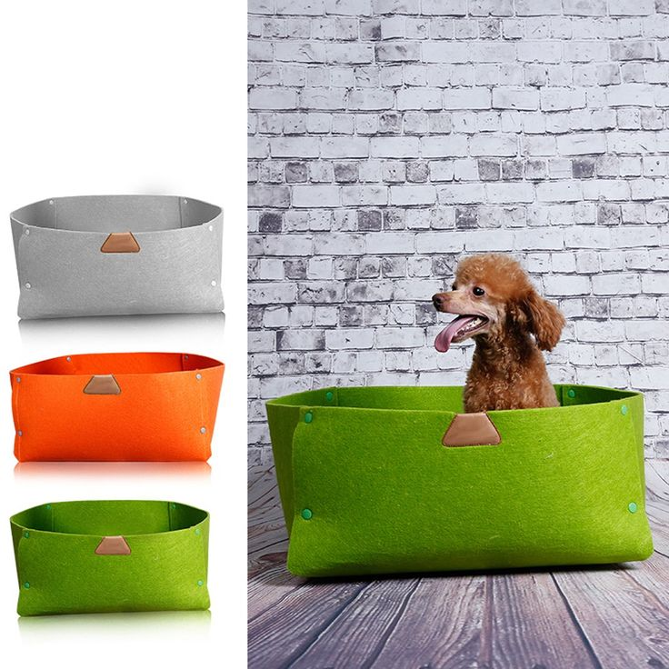 Durable Felt Dog Cat Kitten Puppy Pet Supplies Bed Bedding