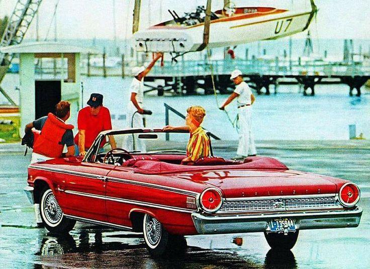1963 Ford Galaxie convertible