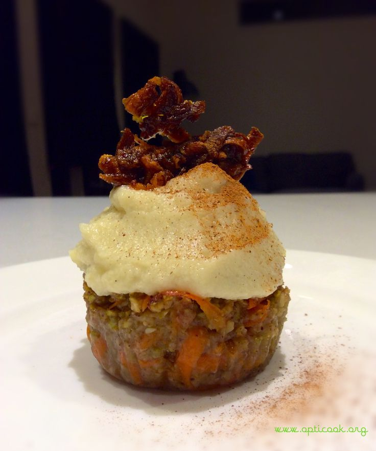 Spiced carrot cake = 1 serve of veges opti intensive