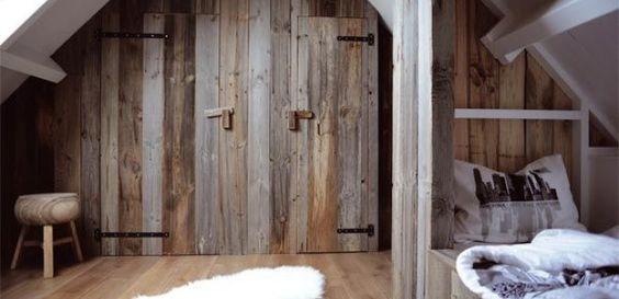 Deuren van oud hout op maat gemaakt