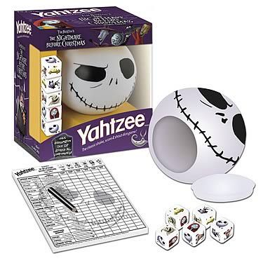 Nightmare Before Christmas Collector's Edition Yahtzee